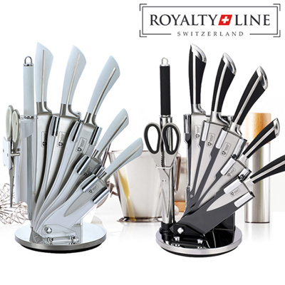 8pcs Stainless Steel Knife Set With Stand / 8pcs Anti-Bacterial Ceramic Coating Knife set wiht Stand / 5pcs Titanium knife set / 5 pcs ceramic knife set ...