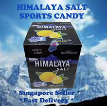 Himalaya Salt Sports Candy / Throat Soothing / Mint Lemon Flavor