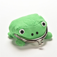 Cute Naruto Frog Wallet Green Coin Purse Wallet Lovely Gift Wallet