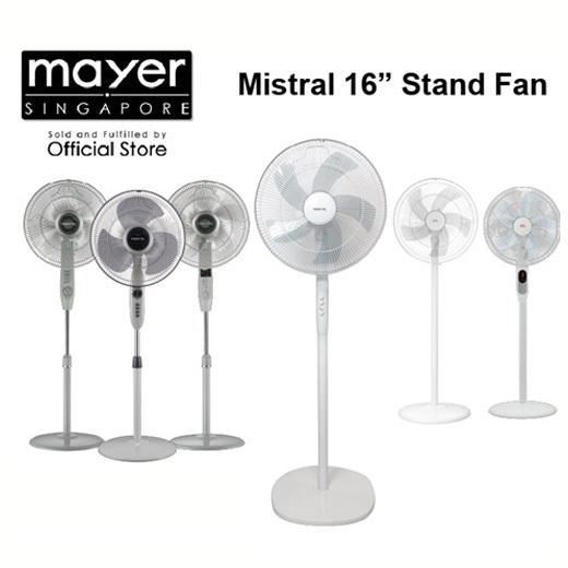 [S$30.00](▼66%)[Mistral]Range of Mistral 16 inch Stand Fan Remote or Non Remote MSF047 MSF046R MSF1679R MSF1643 MSF1678