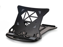 Cooskin YDA-006S Laptop stand holder with 7 levels adjustment and rotating base