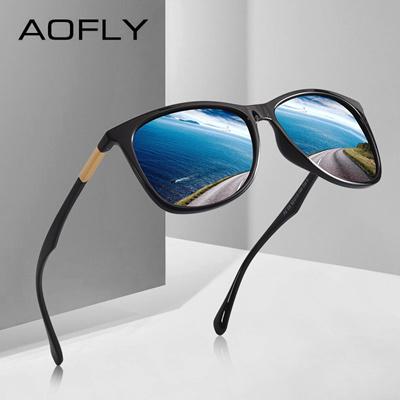 c993b3a217b discount AOFLY BRAND DESIGN Classic Polarized Sunglasses Men Driving TR90  Ultralight Sunglasses Mens