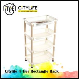 Citylife Rectangle 4 Tier Rack * Storage Inspiration *