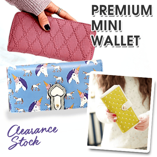 Premium Mini Wallet Deals for only Rp145.000 instead of Rp145.000