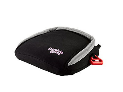 BubbleBum Backless Inflatable Travel Booster Car Seat Black