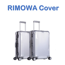 RIMOWA Cover/For Rimowa Luggage Cover/Plastic Transparent Cover/Clear Transparent Cover/Zipper Cover