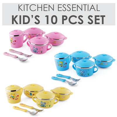 Qoo10 kids meal set kitchen dining for Qoo10 kitchen set