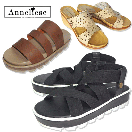 Clearance sale 70% off_ Anneliese wedges collection_free shipping Deals for only Rp45.000 instead of Rp100.000