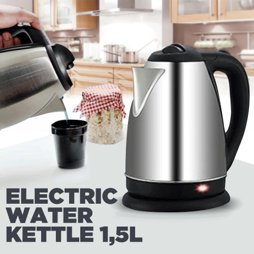 Electric Water Kettle 15L Deals for only Rp118.000 instead of Rp142.169