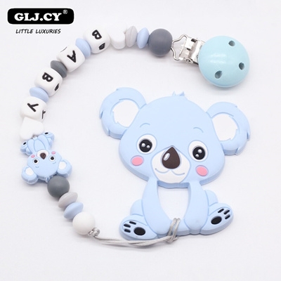 2pcs Cartoon Baby Pacifier Chain Clip Anti Lost Dummy Soother Nipple Holder N cl