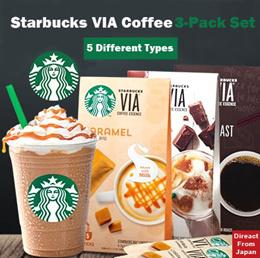 스타벅스 VIA 커피 총 10종류 중 마음대로 고르는 3종 세트 / 스타벅스 제품을 집에서 간편하게! / 봄 한정맛 입고!!