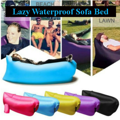 Local Seller?Fast Inflatable? Lazy Waterproof Sofa Bed Deals for only Rp156.000 instead of Rp156.000
