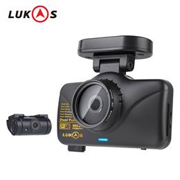 LUKAS LK-7950 WD GPS Dual Full HD 1920x1080 LED 8GB+8GB Car Dash Camera Blackbox CH FHD + FHD w/Wi-Fi/1080p/30frame/Black box /made in korea