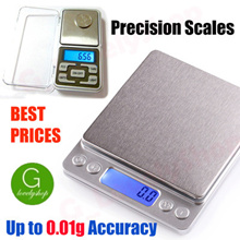 Jewelry Compact Digital Weighing Scale Pocket Size 200g 500g 0.01g 0.1g