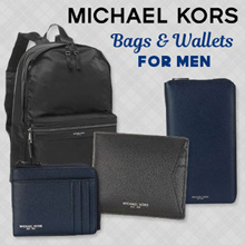 MICHAEL KORS WALLETS AND BAGS FOR MEN★100% GUARANTEED AUTHENTIC★SG TOP LOCAL SELLER VIACOMO7