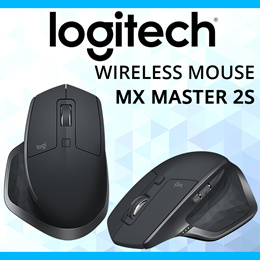 LOGITECH MX MASTER 2S WIRELESS MOUSE (1 YEAR WARRANTY)