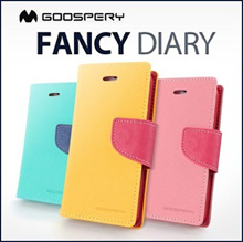 [ORIGINAL] Mercury Goospery Fancy Diary Case for SAMSUNG iPhone SONY Xperia LG REDMI 1S Note NOTE 5 J5 CORE 2 ASUS ZENFONE 5 6 Grand prime G3 Stylus Mega  MAGNA  Galaxy FREE POUCH buy 2