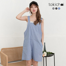 TOKICHOI - Multi-Color Check Playsuit-190827
