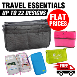 🚚Free Delivery+ Flat Price 🚚 Travel Essentials Luggage Organizer*ORGANISER★ Pouch★Bag in Bag