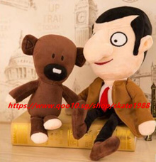 Mr. Bean Teddy Bear Doll Plush Dolls Mr. Bean Bear Birthday Gifts For Baby Kids