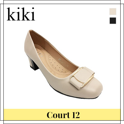 f9d686f9c  kiki  ☆ Court12 Ladies Court Shoes. Black Beige colour Size