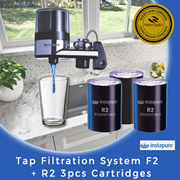 【Instapure】Tap Filtration System F2 + R2 3pcs cartridges