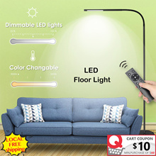 ⚡LOCAL PROMO⚡LED Light Dimmable and Color Adjustable Remote Control Touch Standing Lamp Eye Care