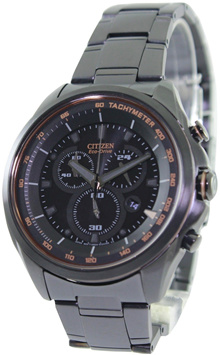 [CreationWatches] Citizen WDR Eco-Drive Chronograph Tachymeter AT2187-51E Mens Watch