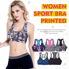 New Collection Women Sport Bra/Branded Sport Bra/Sporty Tops (Random Color and Motif)