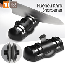 Xiaomi Mijia Huohou Knife Sharpener 2 Stages Double Wheel Sharpener Whetstone Sharpener Tool for Kit