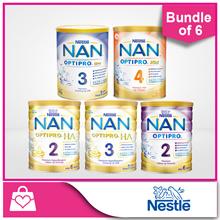 [Use Coupon for Discount] Nestle Nan OPTIPRO® H.A. 2 Follow-Up 800g / H.A. 3 Growing Up 800g / OPTIP