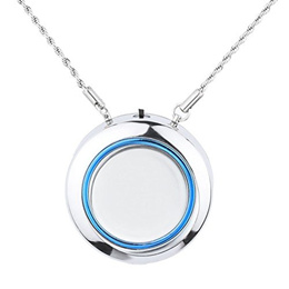 Woolala Personal Wearable Air Purifier Necklace/Mini Portable Air Freshner Ionizer/Negative Ion Gene