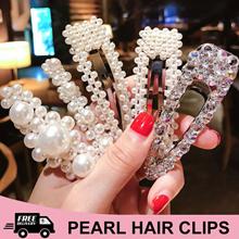 Pearl Hair Clips / Hair Ties / Hair Band / Korean Fashion Accessories
