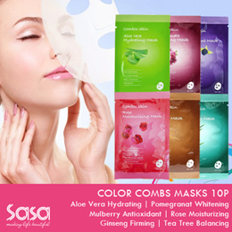 COLOR COMBOS ♥MASK ♥10pcs/Box