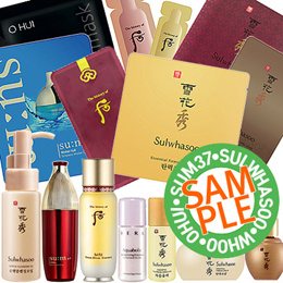 Sample of limited special price★Amore pacific Miniature collection/SulWhaSoo/OHUI/SUM37/PRIMERA/HERA