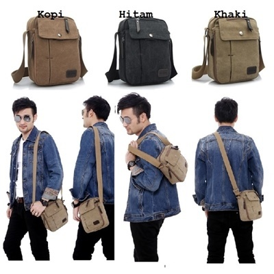 F6662 sling bag - coffee