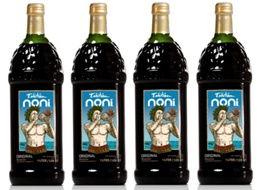 Tahitian Noni Juice Authentic - CASE OF 4 x 1 LITTER. BOTTLES!