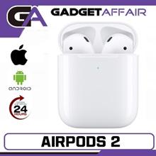 (Apple SG Set) Apple AirPods Gen 2 Wireless Bluetooth Earphones   SG Apple Warranty
