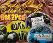 2 toples LADY CHOCO coklat kurma isi / Filling Chocolate Dates Spesial edisi ramadhan - lebaran