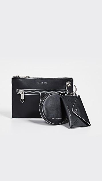 Qoo10 - Paul   Joe Sister Kurtis Clutch   Bag   Wallet d7f4c3178f