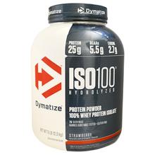 [Ship fr US] Dymatize Nutrition, ISO100 Hydrolyzed, 100% Whey Protein Isolate, Strawberry, 5 lbs (