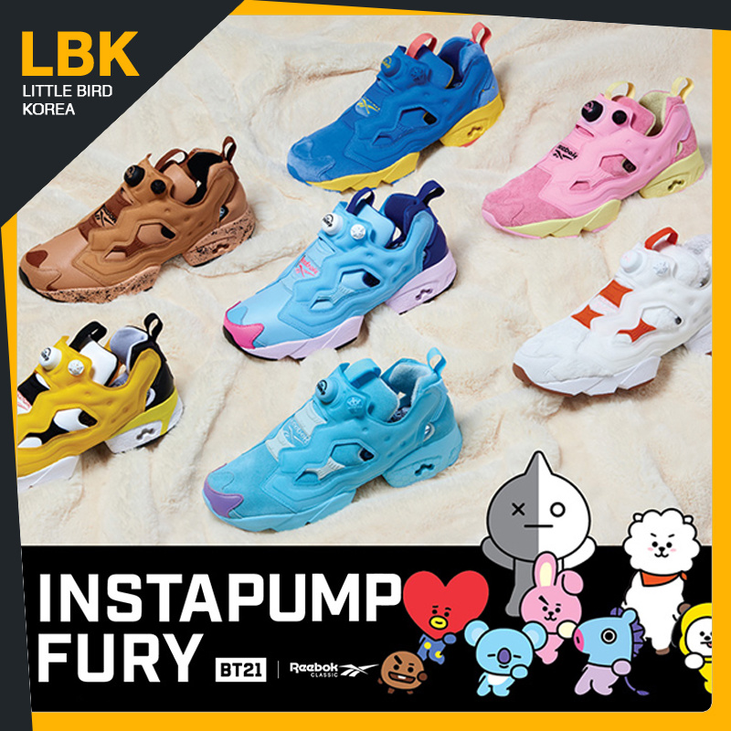 8577a3400ec Qoo10 - BT21 FURY   Shoes