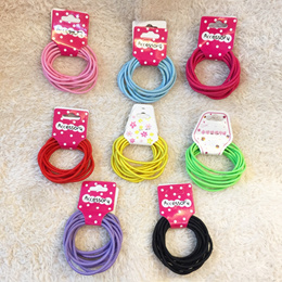 THINGSweLOVE Cheapest Hair Tie Band Elastic Bands Rubber Bands