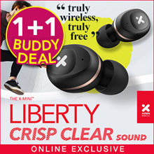 [NEW YEAR Buddy Deal Special] -ONLY 200 sets Online Exclusive Model !! X-mini™ LIBERTY XOUNDPODS