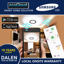 [SMART HOME SOLUTION] Dual Control WiFi+RC Ceiling Light