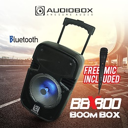 PORTABLE BOOMBOX   POWERFUL AND BASSY   BBX SERIES feat. KBX 900   1 Year Warranty  UP TO 150M² ROOM