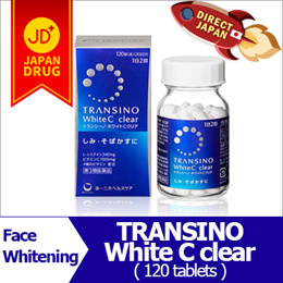 Transino White C Clear 120 tablets / Renewed / Japan direct shipment / bright face / whitening
