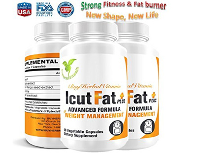 Icutfat Plus Clinically Proven Weight Loss Supplement Fat Burning Appetite Control Energy Booste
