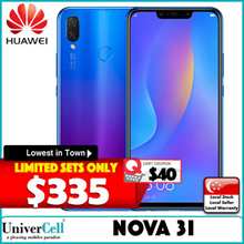 Huawei Nova 3i Smartphone / 128GB ROM + 4GB RAM / 6.3inch Display / Local Set with Local Warranty