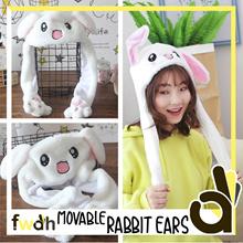 ★ Moving Rabbit Ear Cap ★ Cute Rabbit Cap ★ FWAH ★